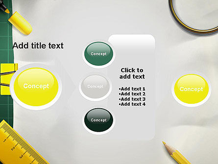 Stationery Supplies PowerPoint Template Slide 17