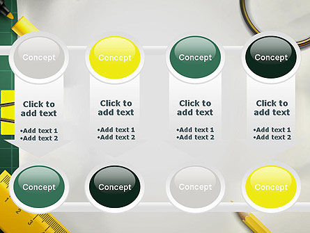 Stationery Supplies PowerPoint Template Slide 18