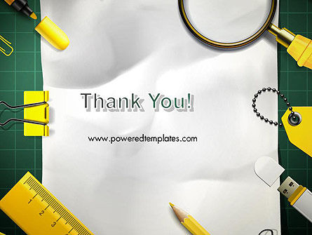 Stationery Supplies PowerPoint Template Slide 20