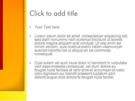 Frame Corner PowerPoint Template, Slide 3, 12817, Abstract/Textures — PoweredTemplate.com
