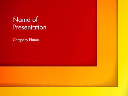 Abstract/Textures: Frame Corner PowerPoint Template #12817