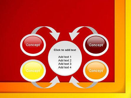 Frame Corner PowerPoint Template Slide 6