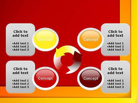 Frame Corner PowerPoint Template Slide 9