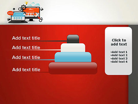 Web Design and Site Development PowerPoint Template Slide 8