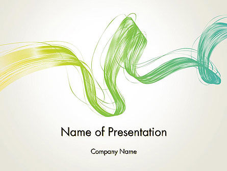 Abstract Dynamic Wave PowerPoint Template