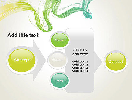 Abstract Dynamic Wave PowerPoint Template Slide 17