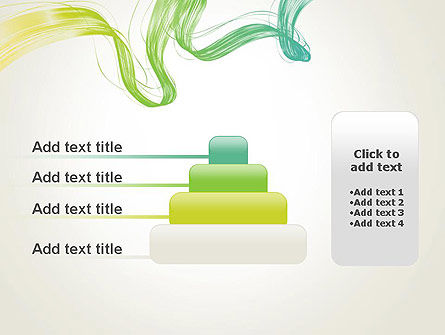Abstract Dynamic Wave PowerPoint Template Slide 8