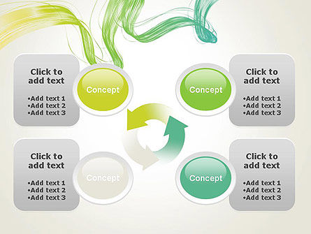 Abstract Dynamic Wave PowerPoint Template Slide 9
