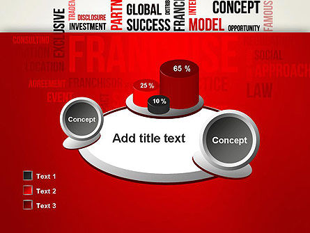 Franchise Word Cloud PowerPoint Template Slide 16
