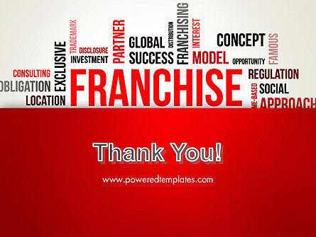 Franchise Word Cloud PowerPoint Template Slide 20