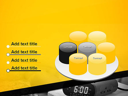 Wake Up Early Alarm Clock PowerPoint Template Slide 12