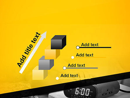 Wake Up Early Alarm Clock PowerPoint Template Slide 14