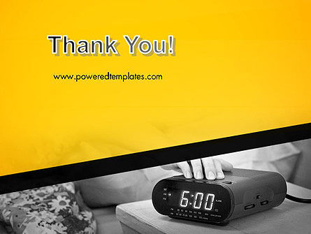 Wake Up Early Alarm Clock PowerPoint Template Slide 20