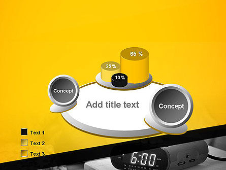 Wake Up Early Alarm Clock PowerPoint Template Slide 6