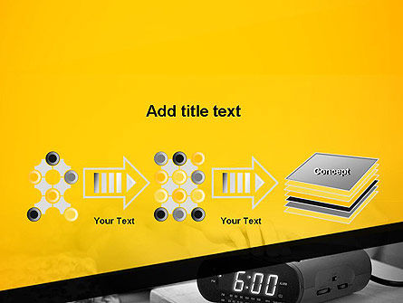 Wake Up Early Alarm Clock PowerPoint Template Slide 9
