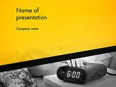 Business Concepts: Wake up frühen wecker PowerPoint Vorlage #12821