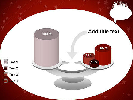 Speech Bubble with New Year Theme PowerPoint Template Slide 10