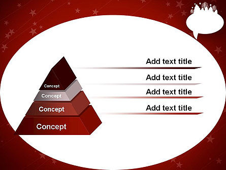 Speech Bubble with New Year Theme PowerPoint Template Slide 12