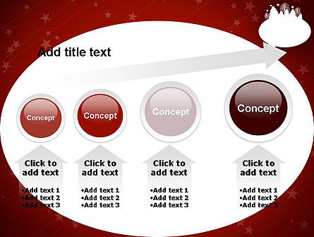 Speech Bubble with New Year Theme PowerPoint Template Slide 13