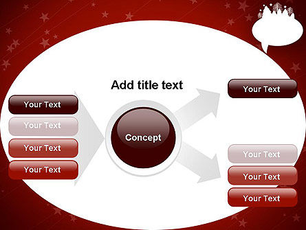 Speech Bubble with New Year Theme PowerPoint Template Slide 14
