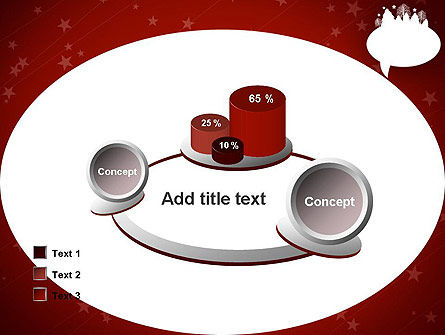 Speech Bubble with New Year Theme PowerPoint Template Slide 16
