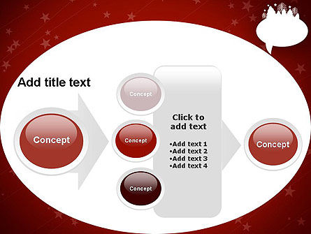 Speech Bubble with New Year Theme PowerPoint Template Slide 17