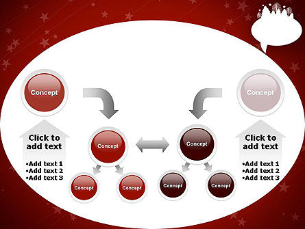 Speech Bubble with New Year Theme PowerPoint Template Slide 19