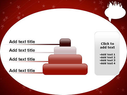 Speech Bubble with New Year Theme PowerPoint Template Slide 8
