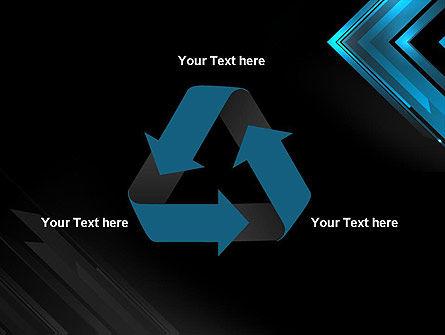 Dark Blue Corner PowerPoint Template Slide 10