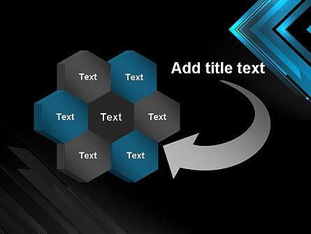 Dark Blue Corner PowerPoint Template Slide 11