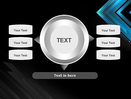 Dark Blue Corner PowerPoint Template Slide 12