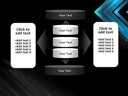 Dark Blue Corner PowerPoint Template Slide 13