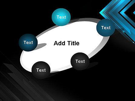 Dark Blue Corner PowerPoint Template Slide 14