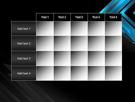 Dark Blue Corner PowerPoint Template Slide 15