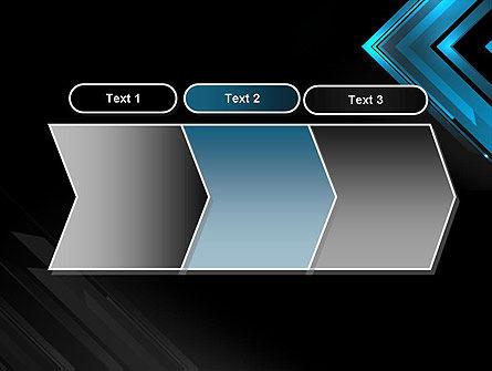 Dark Blue Corner PowerPoint Template Slide 16