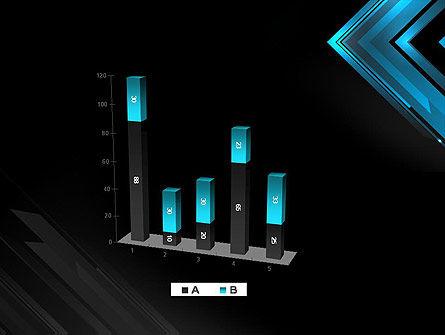 Dark Blue Corner PowerPoint Template Slide 17