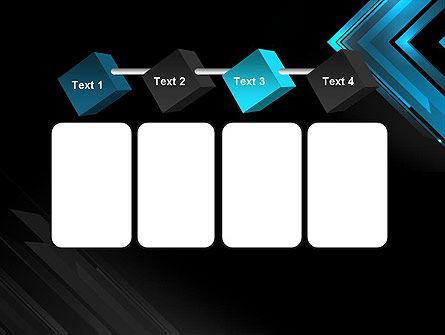 Dark Blue Corner PowerPoint Template Slide 18