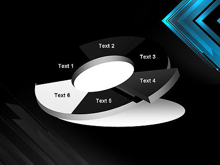 Dark Blue Corner PowerPoint Template Slide 19