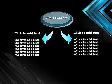 Dark Blue Corner PowerPoint Template Slide 4