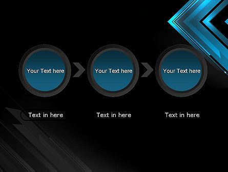Dark Blue Corner PowerPoint Template Slide 5