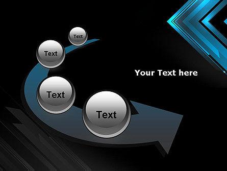 Dark Blue Corner PowerPoint Template Slide 6