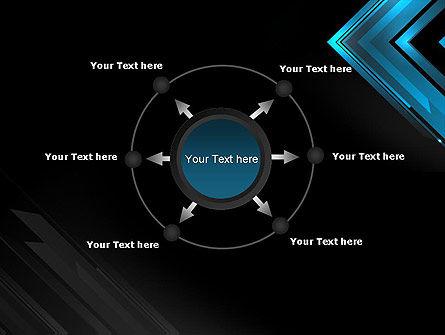 Dark Blue Corner PowerPoint Template Slide 7