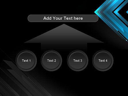 Dark Blue Corner PowerPoint Template Slide 8