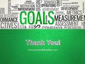 Goals Word Cloud PowerPoint Template#20