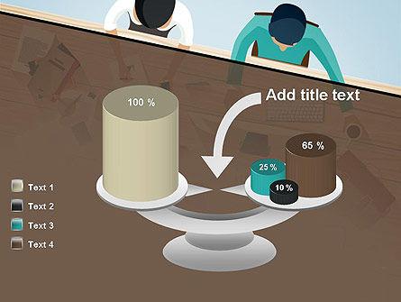 Startup Team Members Brainstorming PowerPoint Template Slide 10