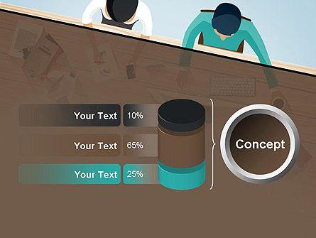 Startup Team Members Brainstorming PowerPoint Template Slide 11