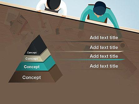 Startup Team Members Brainstorming PowerPoint Template Slide 12