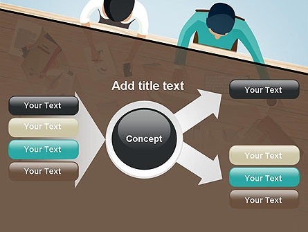 Startup Team Members Brainstorming PowerPoint Template Slide 14