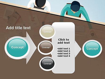 Startup Team Members Brainstorming PowerPoint Template Slide 17