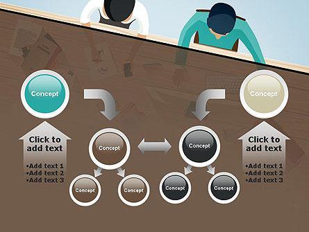 Startup Team Members Brainstorming PowerPoint Template Slide 19